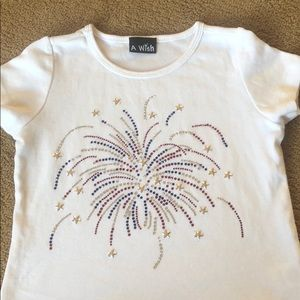 Girls 4th of July T-Shirt